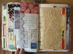 Beautiful scrapbook. <3