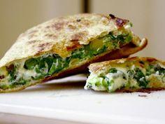 Spinach Pie Quesadilla | KitchenDaily.com