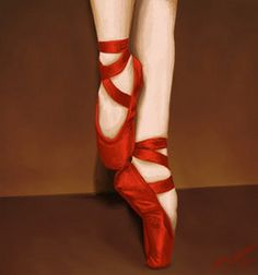 Nothing like red shoes to make you move!!!