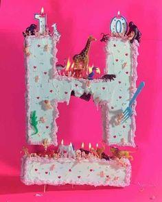 Critter birthday cake