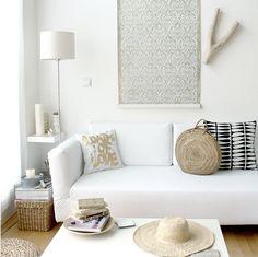 via ikea family live #living #room #white #interiors