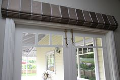 French Door Roman Sh