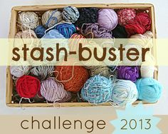 Stash-Buster Challenge 2013 with Lanas de Ana and Linda's Crafty Corner