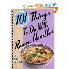 Ramen Noodle Recipe Book.