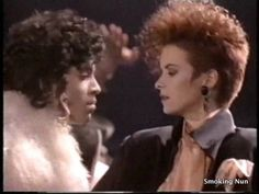 Prince and Sheena Easton