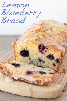 "Meyer Lemon Blueberry Bread. ""Moist. Just sweet enough. Big blueberries suspended inside. For a true lemon fan, it doesn't get much better than something like this."""
