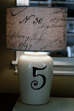 for my new office - PERFECT lamp shade
