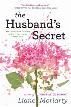 The Husband's Secret by Liane Moriarty. Wish I'd saved this one for the beach next week. Really quick interesting read