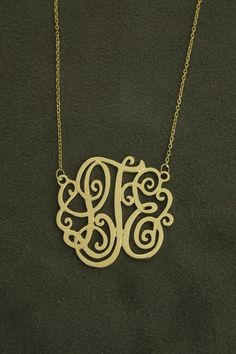 Love the monogram!