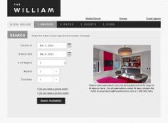 The William opens January 6th, but you can start booking one of our welcoming 33 suites today.