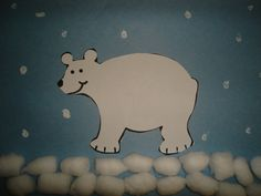Preschool Crafts for Kids*: Polar Bear Winter Craft