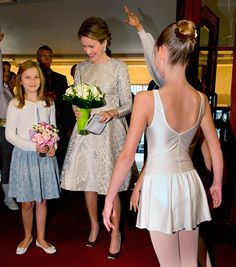 !! REAL- MY ROYALS !!: Queen Mathilde and Princess Elisabeth visited the Genee International Ballet Competition at the Opera in Antwerp, Belgium.