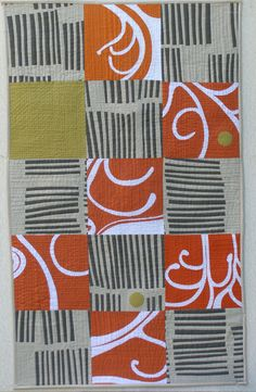 Bushwalk – Flora 4  by Anna Brown. 2010 'One Step Futher' contemporary quilt exhibit | Victorian Quilters (Australia)