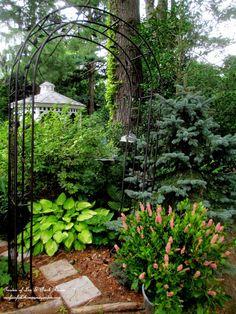 Garden Arbors and Gates ~ Make An Entrance!   http://ourfairfieldhomeandgarden.com/garden-arbors-gates-make-an-entrance/