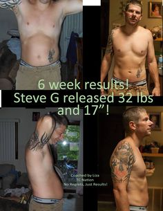 This is my friend Liza's hubby, Steve. Cleansing is NOT just for the ladies!!! Steve is feeling great...and that makes Liza happy too!!! How's your husband feeling lately? Does he need a change?   taragiunta@comcast.net or tgiunta.isagenix.com