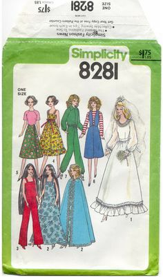 Free Copy of Pattern - Simplicity 8281