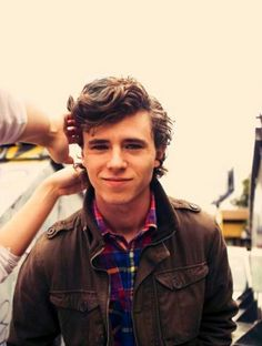 Charlie McDermott; yeah, he's pathetic, lazy and annoying on TV, but in real life...quite handsome.
