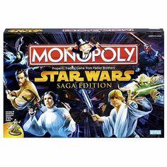 Monopoly Game Star Wars Saga Edition at SuliasZone