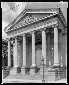 City Hall Erectheum, St. Charles & Lafayette St., New Orleans, Orleans Parish, Louisiana