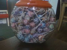 Upcycled Tide Pod container. Could be used as any storage or goldfish bowl. :) I used lighter fluid to remove labels and then soaked in bleach water before washing to get rid of the smell.