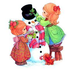 precius moment, christma stuff, linda ilustraçõ, precious moment, digi stamp