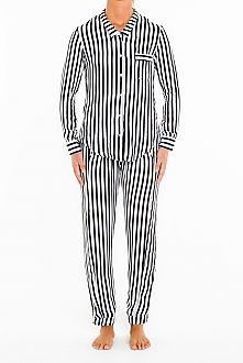 Masini & Chern Black & White Stripe Set