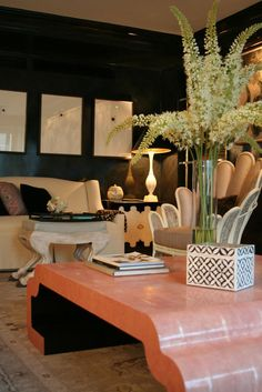 Celerie Kemble absolutely LOVE the coffee table!