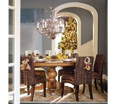 dining rooms, wall colors, chair, dine room, potteri barn