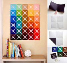 DIY : Easy Paper Tiles