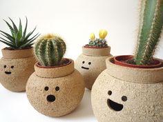 Pots with personality. #EtsyUK