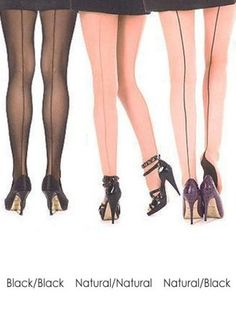 Stretch Seamed Stockings - Pamela Mann