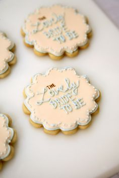 These would be amazing for a bridal shower!