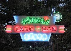 Guero's Taco Bar on South Congress in Austin.