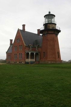 Block Island Lighthouse, Rhode Island.