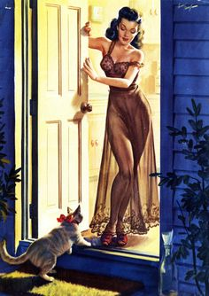 art by Freeman Elliott 1950's