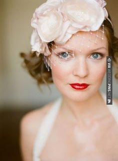 Wow! - red lips bridal make up | CHECK OUT MORE GREAT WEDDING MAKEUP IDEAS AT WEDDINGPINS.NET | #weddings #makeup #weddingmakeup #weddingeyes #lipstick #eyeliner #rouge #forweddings #iloveweddings #romance #beauty #planners #fashion #weddingphotos #weddingpictures,