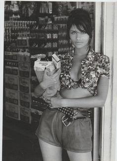 SUPERMODEL SHRINE : Helena by Fabrizio Ferri, 1992