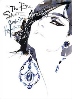 David Downton illustrations!!
