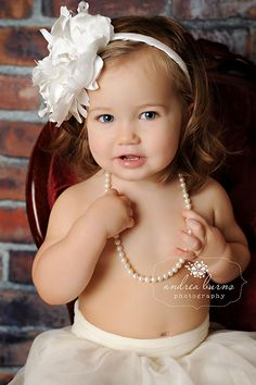 little girls, toddler pictures, pearls, babi, baby girls