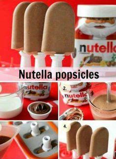 Helados de Nutella