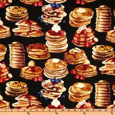I have to buy this. Delicious Pancake Fabric *__*