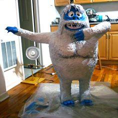Papier Mache - Tutorials - Bumble - The Abominable Snowman