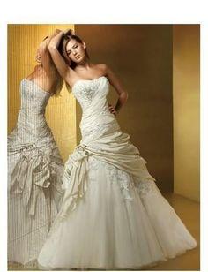 elegant white taffeta sweetheart sleeveless beading chapel train aline wedding dress wd0052