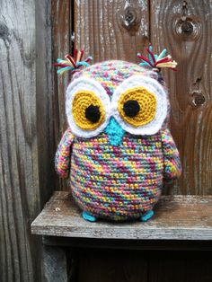 crochet amigurumi owl softie