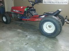 Racing Mower More