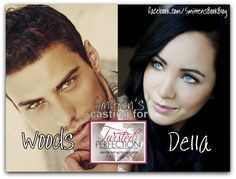 Woods Kerrington & Della Sloane ~  Twisted Perfection & Simple Perfection (Perfection #1 & 2), by Abbi Glines ★★★★★ Full review: http://smittensbookblog.wordpress.com/2014/05/24/twisted-perfection-simple-perfection-perfection-1-2-by-abbi-glines-★★★★★/ perfect perfect, abbi gline, rosemari beach, beach seri, twist perfect, simpl perfect, book charact