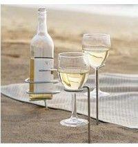 sand wine holder