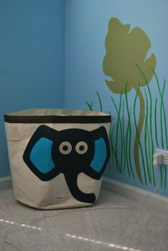 LOVE this elephant storage bin by 3 Sprouts!