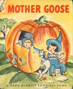 ''MOTHER GOOSE'' Elf, illustrated by Esther Friend 1950.