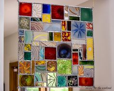 Beautiful stained glass panel